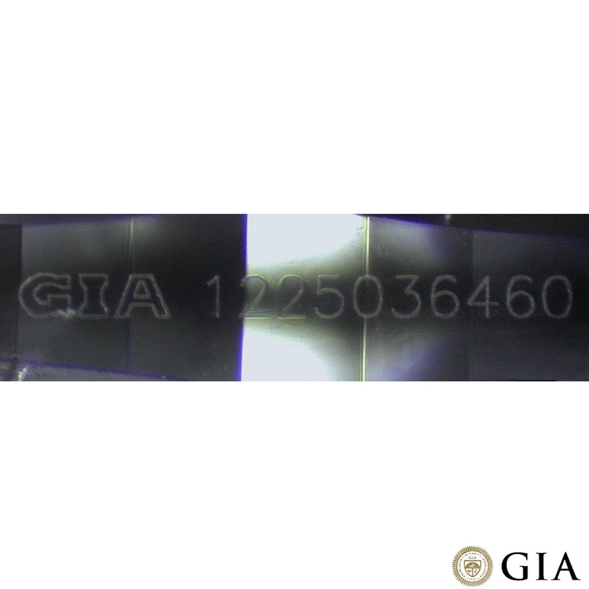 White Gold Round Brilliant Cut Diamond Ring 1.52ct G/VVS2